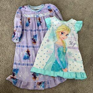 Disney Frozen toddler night gowns